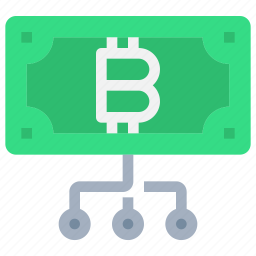 bank, bitcoin, btc, business, currency, money, network icon