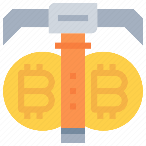 bitcoin, btc, business, currency, dig, investment, money icon