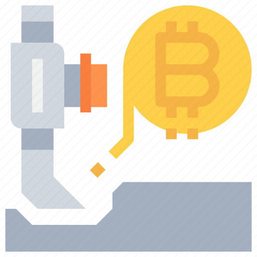 bitcoin, btc, currency, dig, investment, money icon
