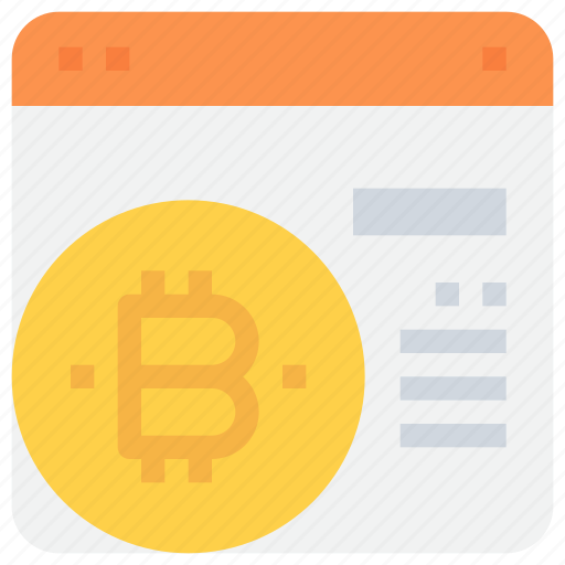 bitcoin, browser, btc, currency, money, payment, website icon