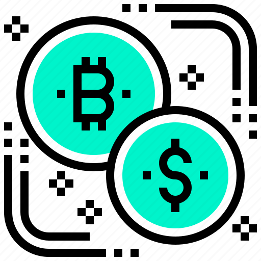 bitcoin, coin, currency, digital, exchange, money icon