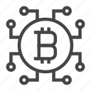bitcoin, business, cryptocurrency, currency, finance, money, payment icon