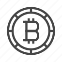 bitcoin, business, cryptocurrency, currency, digital currency, finance, money icon