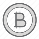 bitcoin, coin, currency, finance, investment icon