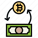 arrows, currency, exchange, money