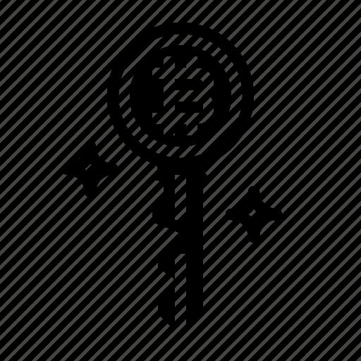 access, key, password, security icon