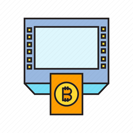 atm, cryptocurrency, digital currency, money, money machine, payment, transaction icon