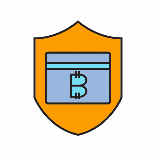 bitcoin, credit card, cryptocurrency, digital currency, privacy, security, shield icon