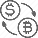 bitcoin, business, coin, cryptocurrency, dollar, exchange, financial