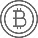 bitcoin, business, coin, cryptocurrency, finance, financial, web icon