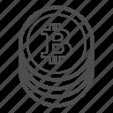 bill, bitcoin, bitcoins, cash, coin, coins, money icon