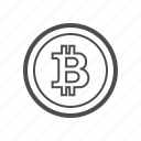 bill, bitcoin, bitcoins, coin, cryptocurrency, currency, money icon