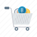buying, cart, shop, shopping, trolley icon