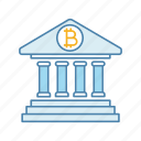 account, balance, bank, banking, bitcoin, cryptocurrency, deposit icon