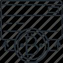 bill, bitcoin, blockchain, money