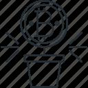 bitcoin, blockchain, cryptocurrency, integration icon
