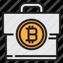 bag, bitcoin, blockchain, coin, cryptocurrency, finance, money