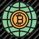 bitcoin, blockchain, coin, cryptocurrency, finance, gobal, money