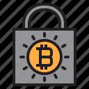 bitcoin, blockchain, coin, cryptocurrency, finance, lock0a, money