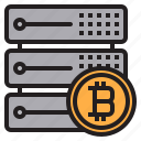 bitcoin, blockchain, coin, cryptocurrency, finance, money, server