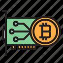 bitcoin, blockchain, coin, cryptocurrency, finance, money, vga