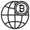 bitcoin, blockchain, coin, cryptocurrency, finance, money icon