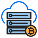bitcoin, blockchain, cloud, cryptocurrency, finance, money, server