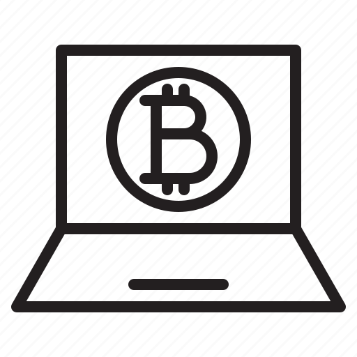bitcoin, blockchain, coin, cryptocurrency, finance, money, monitor icon