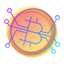 bitcoin, btc, corrency, sign icon