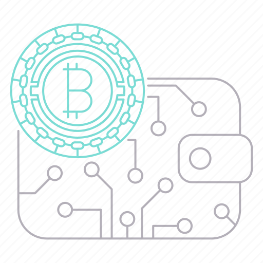 bitcoin, cryptocurrency, digital, savings, technology, wallet icon