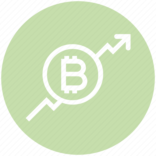 Arrow, ascend, bitcoin, blockchain, graph, increase, up icon - Download on  Iconfinder
