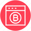 bitcoin account, bitcoin login, bitcoin web, bitcoin website, business, online bitcoin, website icon