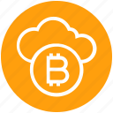 bitcoin, blockchain, cloud, cloud computing, crypto, currency, money