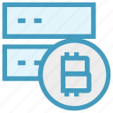 bitcoin, coin, cryptocurrency, internet, network, routers, wifi routers icon