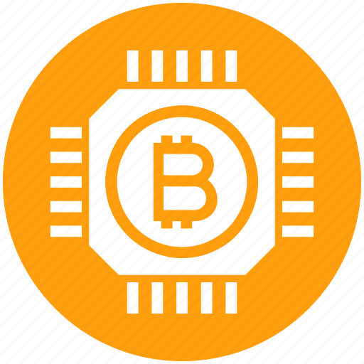 bitcoin, bitcoins, chip, cryptocurrency, currency, digital, money icon