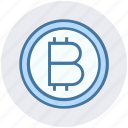 bitcoin, coin, currency, digital currency, digital wallet, money, payment icon