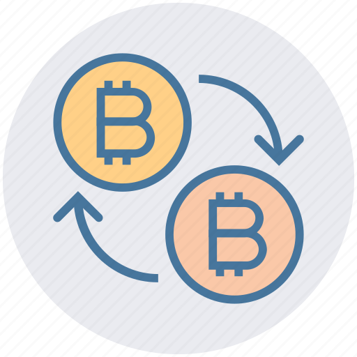 bitcoin, bitcoins, buy, cash, cryptocurrency, money, transfer icon