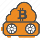 bitcoin, bitcoins, blockchain, cloud, cryptocurrency, mining, web