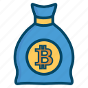 bank, bitcoin, bitcoins, currency, money icon