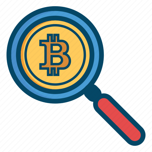 bitcoin, bitcoins, currency, find, look, money icon
