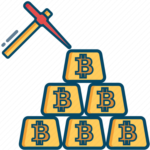 bill, bitcoin, bitcoins, cash, cryptocurrency, ingot, mining icon