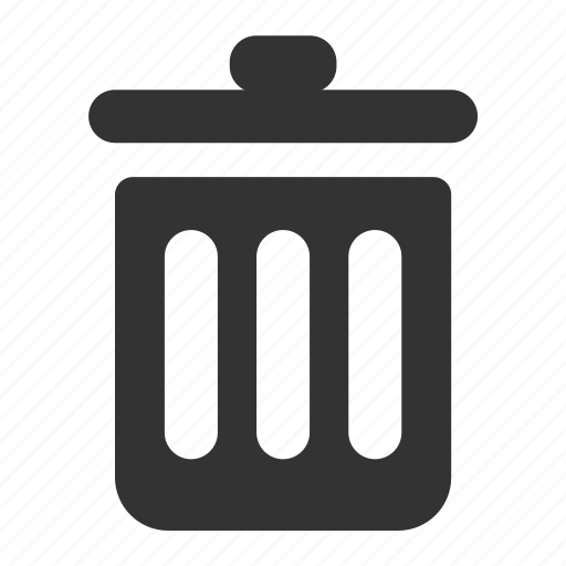 delete, recycle, remove, trash, waste icon