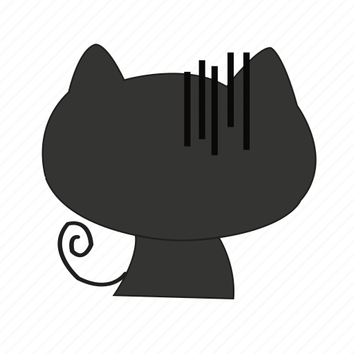 animal, cat, cute, disappoint, wonder icon