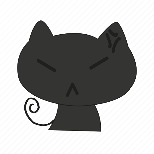 animal, annoy, cat, face, resentful, wrath icon
