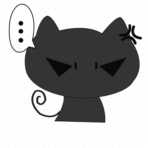 angry, animal, cat, mad, mammal, pet icon