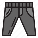 pant, promotions, blackfriday, sale, discounts icon