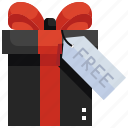 gift, shopping, box, promotion, free, sale