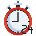 black, clock, stopwatch, happy, friday, hour, time