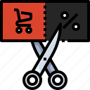 gift, cart, shopping, voucher, promotion, sale, discount icon