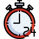 hour, time, stopwatch, black, clock, friday, happy